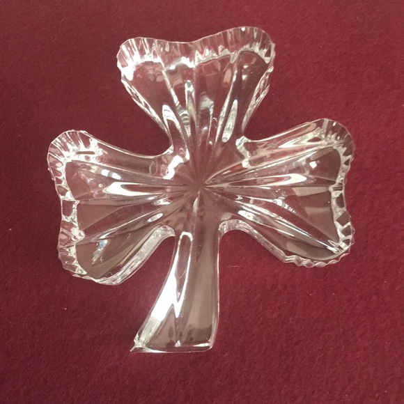 Waterford Crystal Other - Waterford Crystal shamrock paperweight